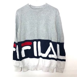 Vintage FILA Red white and Blue Knit Sweater